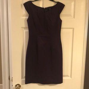 Purple Mossimo Office Dress